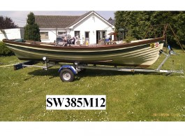 Lake Boat Trailer