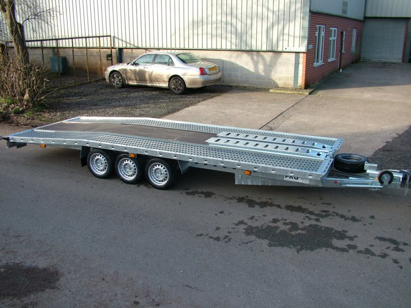 Prg Trailers Ltd Lodeck Beavertail Car Transporters