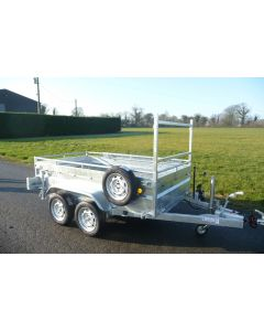 Lider Robust Tipper 34352 with Optional Ladder Rack, Spare wheel and Carrier